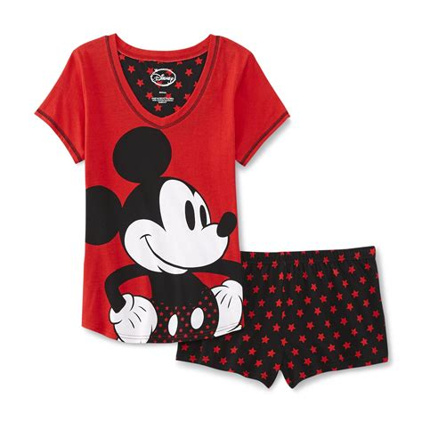 Piyama Pajamas Cp Mickey Mouse t shirt set pajama kmart set pajama t shirt