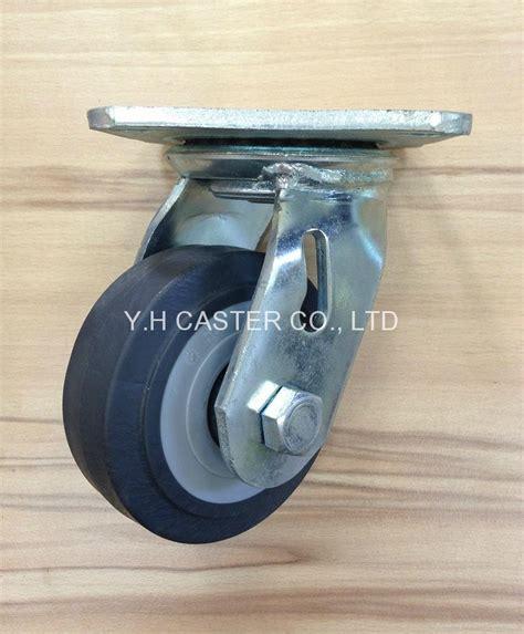 Roda Pu On Pp Heavy Duty Caster Taiwan 6 Mati 415 tpr caster wheel 100mm x 38mm taiwan manufacturer