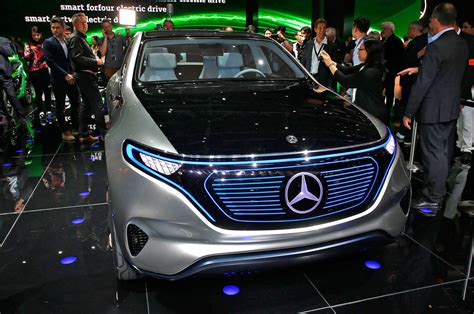 mercedes benz reveals electric generation eq concept suv