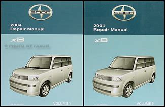 service manual 2005 scion xb factory service manual 2005 scion xb owners manual scion tc 2004 scion xb wiring diagram manual original