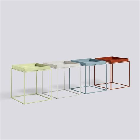 Hay Side Table Tray Side Table Square Hay Ambientedirect