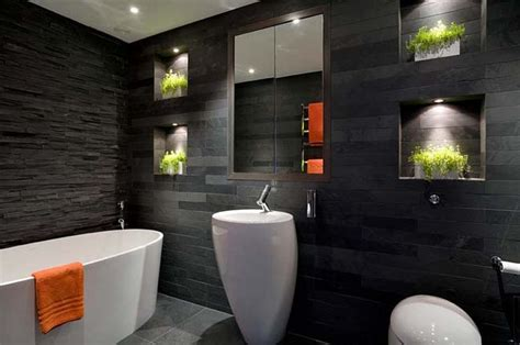 Black Bathroom Ideas by 15 Amazing Black Bathroom Designs