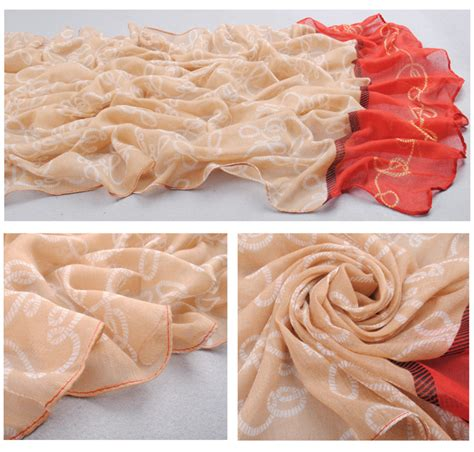 stitching lace scarves wholesale china scarf