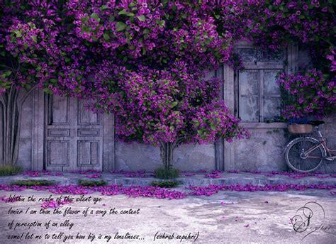 Purple blossom   Interior Design Ideas.
