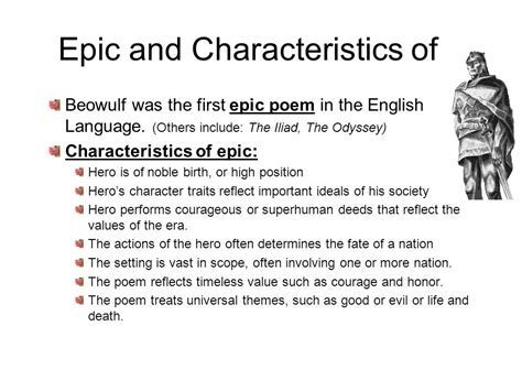 beowulf themes relevant to modern life the anglo saxon period a d study guide notes ppt