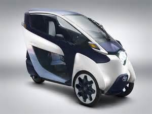Toyota Electric Car Toyota I Road Uk Electric Cars