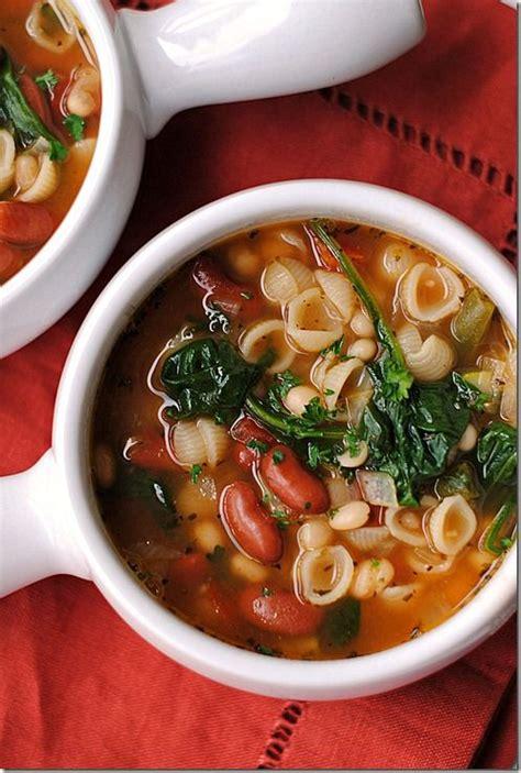 Olive Garden Inspired Minestrone Soup Recipe Gardens Olive Garden Vegetable Soup