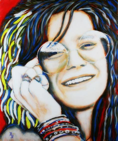 How To Use Duvet Cover Janis Joplin Pop Art Portrait Painting By Bob Baker