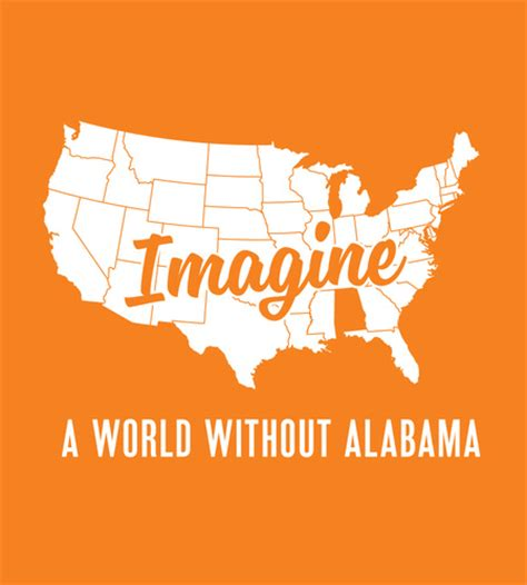 imagine a world without dis ease is it possible books orange and white imagine a world without alabama shirt