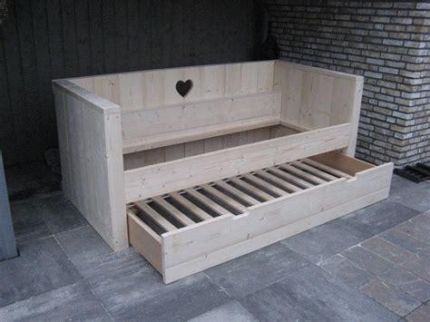 bouwtekening bed bouwtekening steigerhout bed 2 persoons qe97 belbin info