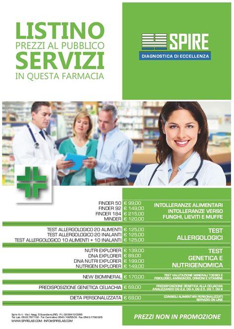 test intolleranze alimentari sangue farmacia con analisi sangue e intolleranze alimentari