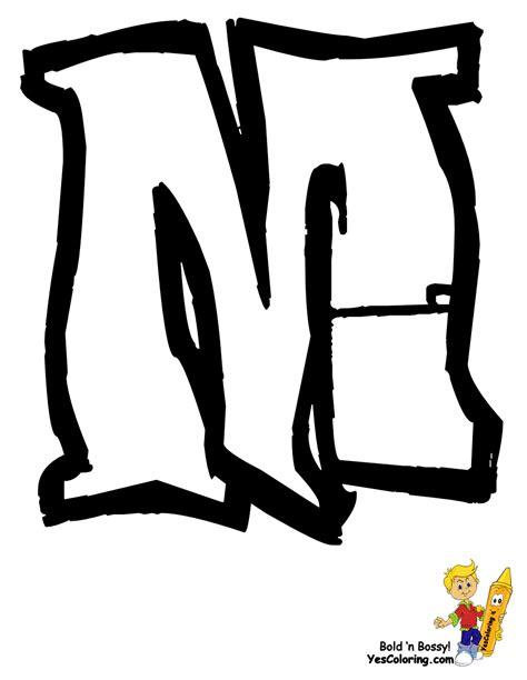 graffiti m letter m graffiti coloring pages
