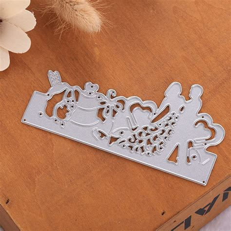 Paper Craft Dies - silver cutting dies diy scrapbook paper card photo