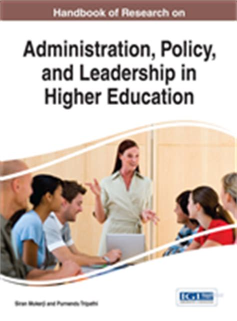 Mba In Higher Education And Research Management by Igi Global International Publisher Of Progressive