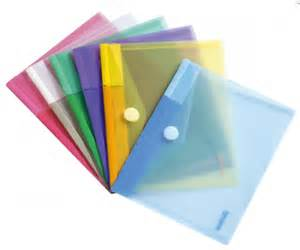 pochette porte documents format a5 en pp assortis