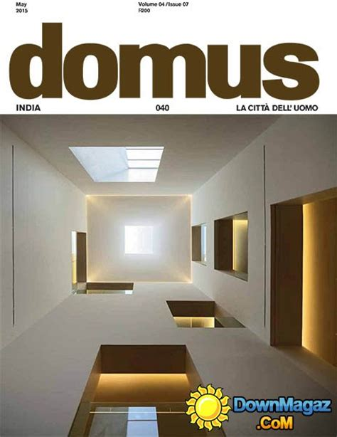 best home design magazines in india domus india may 2015 187 download pdf magazines