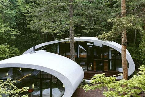 Moderne Architektur Japan moderne architektur organische japanische residenz