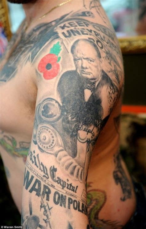 british tattoo history 20 world war ii tattoos for d day tattoodo