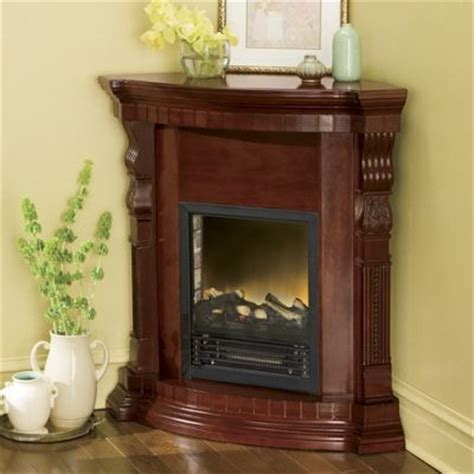 Wards Fireplaces by Convertible Corner Electric Fireplace From Midnight Velvet 78467
