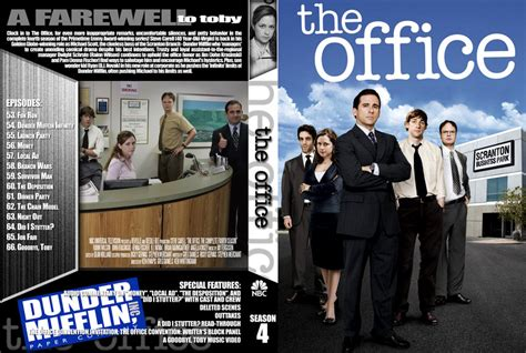 thee office season 4 tv dvd custom covers the office