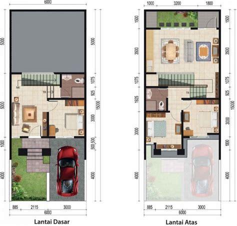koleksi type rumah minimalis lengkap dengan denahnya rumah masa kini