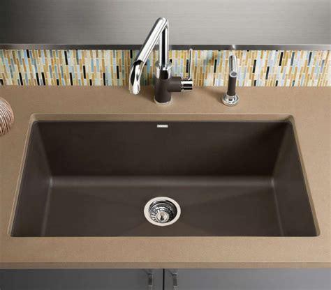 blanco granite kitchen sinks granite composite kitchen sinks a 3 minute guide