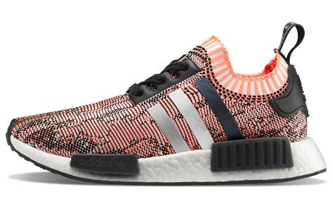 adidas nmd r1 primeknit adidas nmd r1 primeknit pink and black shoes aw lab