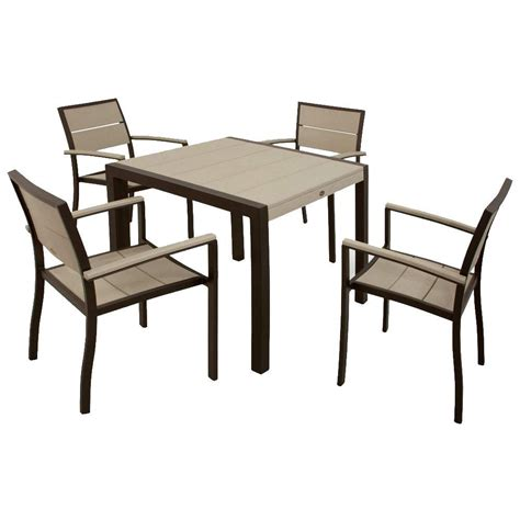 City Furniture Patio Furniture by Trex Outdoor Furniture Surf City Textured Bronze 5
