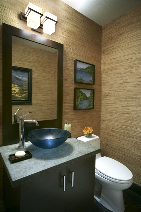contemporary wallpaper for bathrooms small bathroom vanity bathroom contemporary with accent