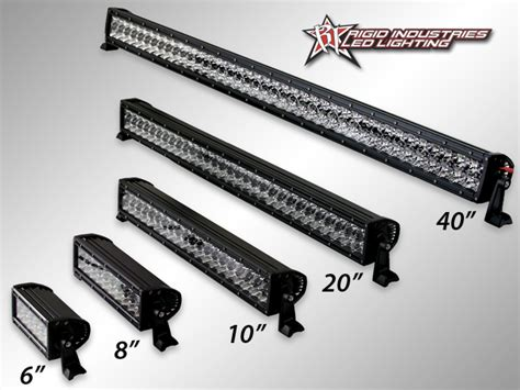rigid led light bar rigid led lights suburban toppers