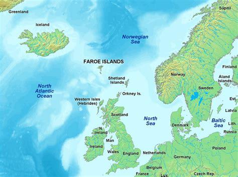 map of islands atlas of the faroe islands wikimedia commons