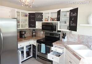 kitchen cabinet door painting ideas livelovediy the chalkboard paint kitchen cabinet makeover