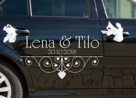 Kleine Aufkleber Hochzeit by Autoaufkleber Hochzeit Mr And Mrs Und Kleinen Miss