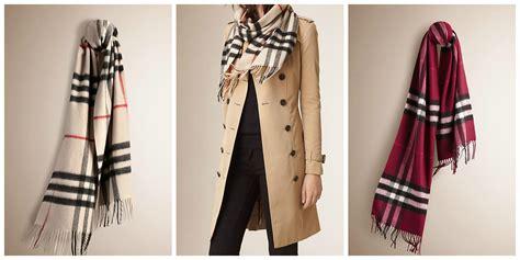 wardrobe wish list burberry scarf