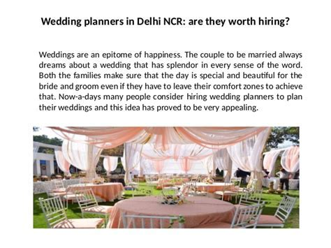 Wedding planners in Delhi NCR   Best Wedding Planners In Delhi