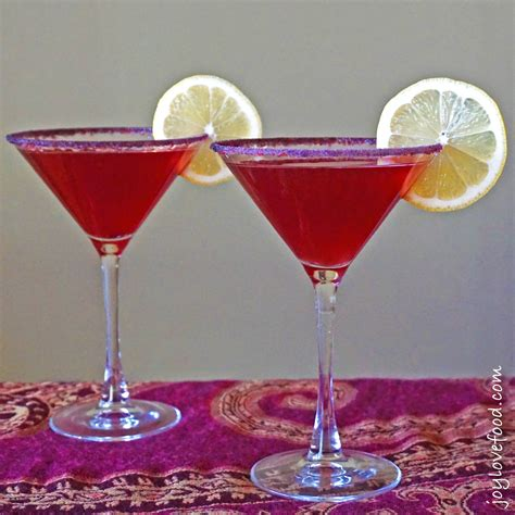 martini pomegranate pomegranate limoncello martinis joy love food