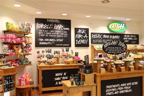 Bathtub Store Breaking News Lush Opens Their Largest Store In