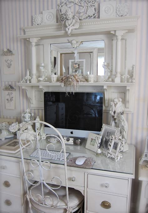 Shabby Chic Office Desk 96 Best Images About Shabby Chic Home Office On Pinterest Shabby Chic Desk And