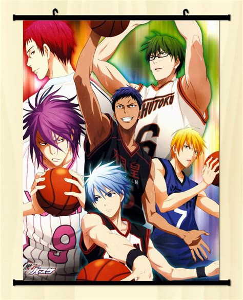 Kalender Poster Kuroko No Basket And Haikyuu kuroko no basket teiko team home decor japanese poster