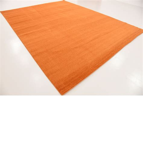 Contemporary Area Rugs 9 X 12 Terracotta 9 10 X 12 11 Solid Basic Contemporary Floor Carpet Modern Area Rugs Ebay