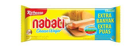 Richeese Nabati Wafer 50gram richeese nabati cheese flavored wafer nabati snack