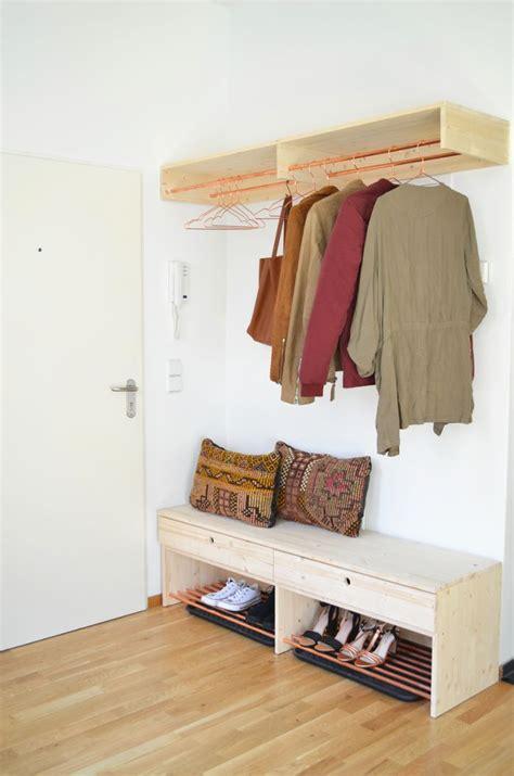 garderobe holz selber machen die besten 17 ideen zu schuhregal selber bauen auf