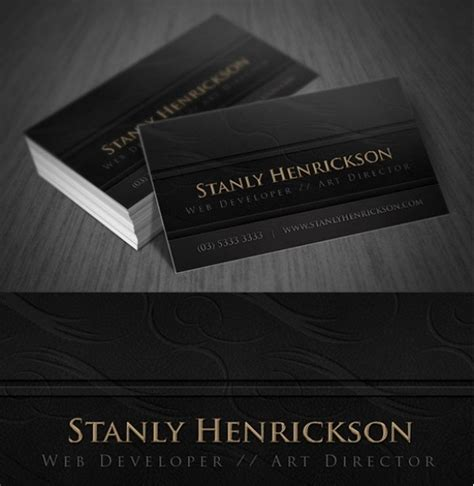 deluxe photo card templates deluxe leather business card template set welovesolo