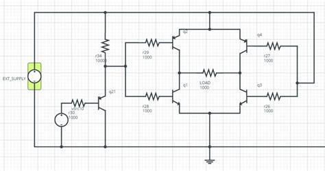 bipolar transistor h bridge switches building a voltage switcher for an h bridge using bipolar transistors electrical