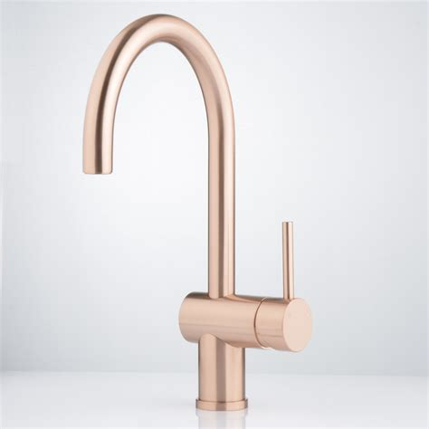 kitchen faucets australia brushed rose gold faucet strommen