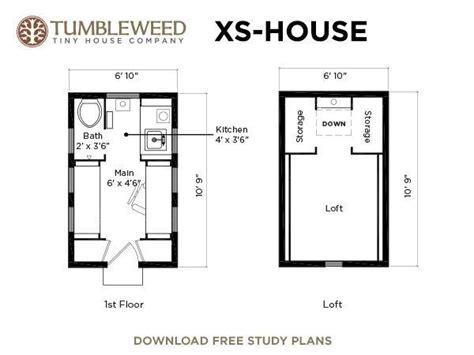 Xs House Plans Decoist Tumbleweed Tiny House Plans Free