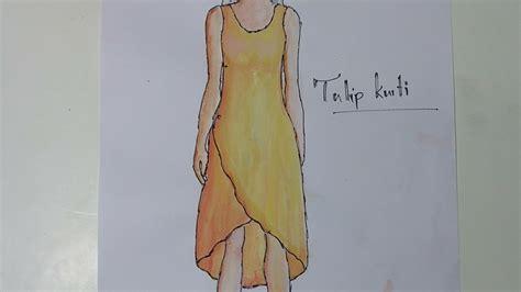 kurti pattern making tulip kurti cutting pattern making sewing diy tutorial