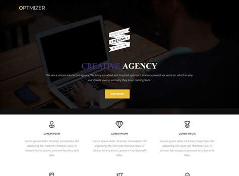 blog theme landing page 17 best free wordpress landing page themes and templates 2017