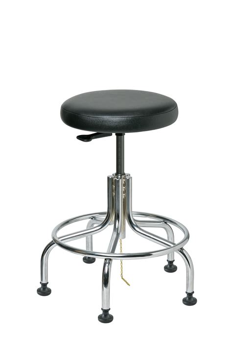 Bevco Stool by Bevco 3210e V Esd Backless Stool 19 Quot 24 Quot