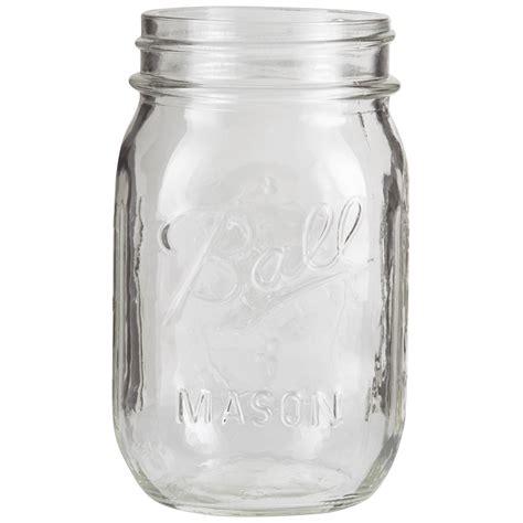 ball mason ball 174 16 oz pint mason jars no lid bulk packed